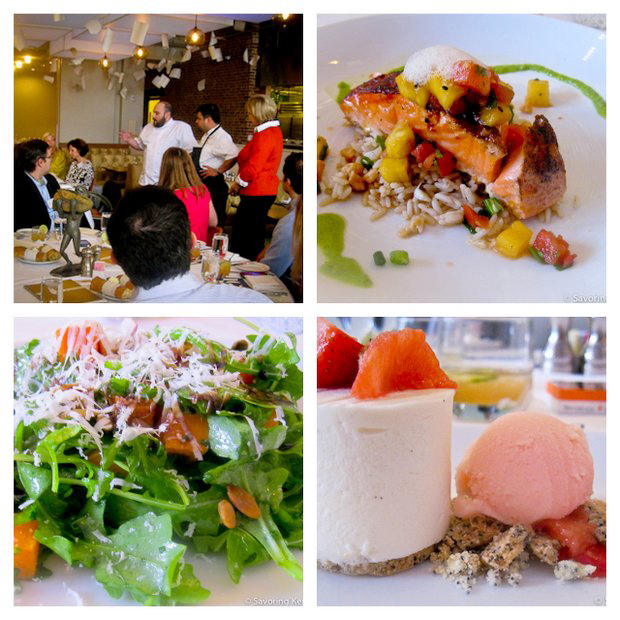 Four scenes from Proof on Main restaurant
