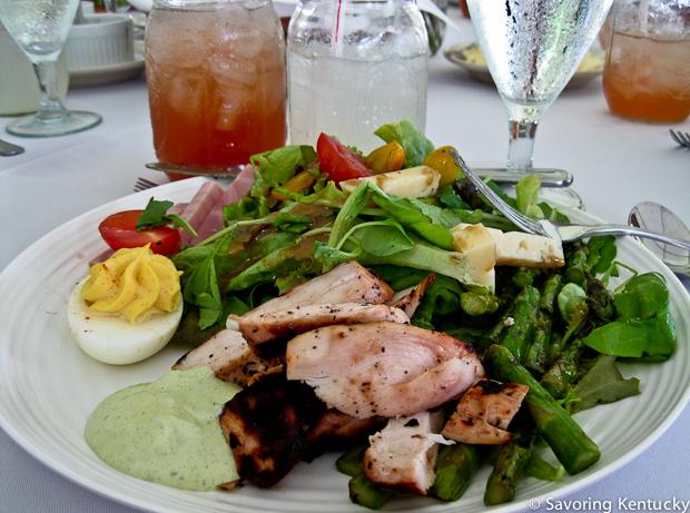 Local lunch of Kentucky summer foods, 2012