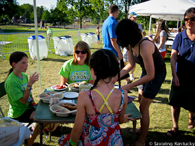 Good Foods Market co-hosts Veggin' Out At the Pool, 2012