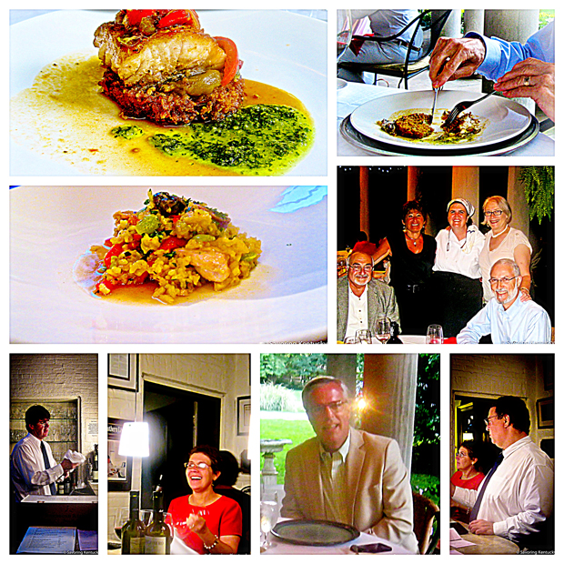 "Holly Hill Inn's ""Summer in Madrid"" dinner, August 2012. Midway, Kentucky"