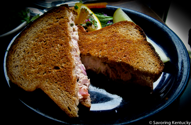 Alfalfa's Tuna Melt Sandwich, good enough to cause craving and pre-planning all the way from our nation's capital.