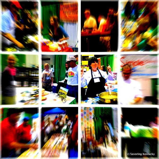 Blazing hot! Incredible Food Show in Lexington, Kentucky, October 27, 2012