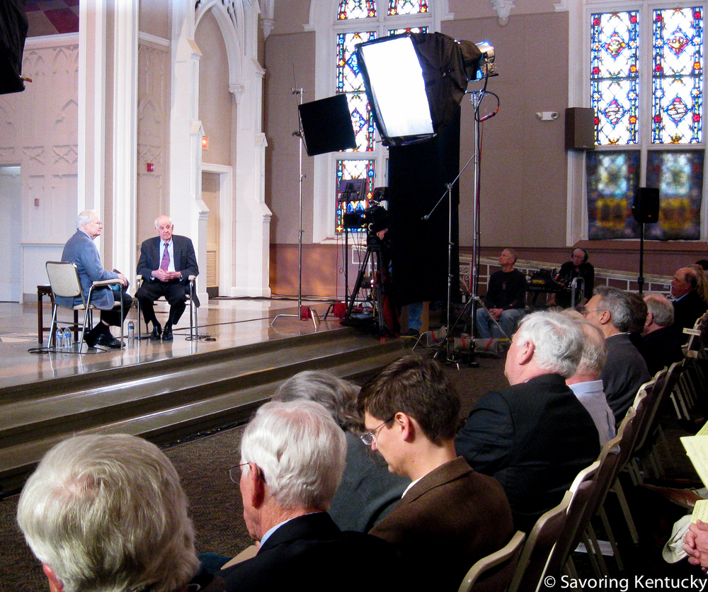 Bill Moyers interviews Wendell Berry at St. Catharine College, March, 2013.