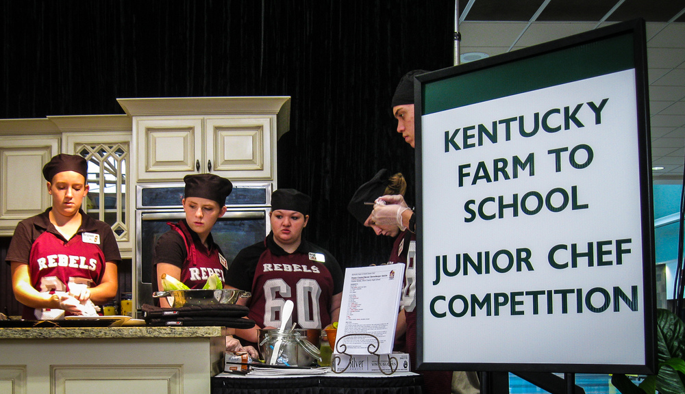 Competition-winning chefs from Owen County High School