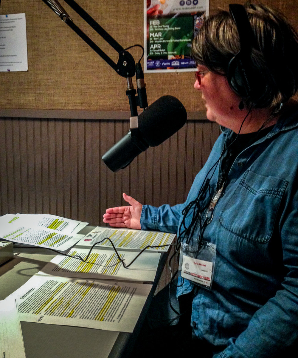 Chef Ouita Michel brings her research on aphrodisiac foods to Hot Water Cornbread, which has a happy home at WLXU 93.9 LP-FM, one part of Lexington Community Radio.