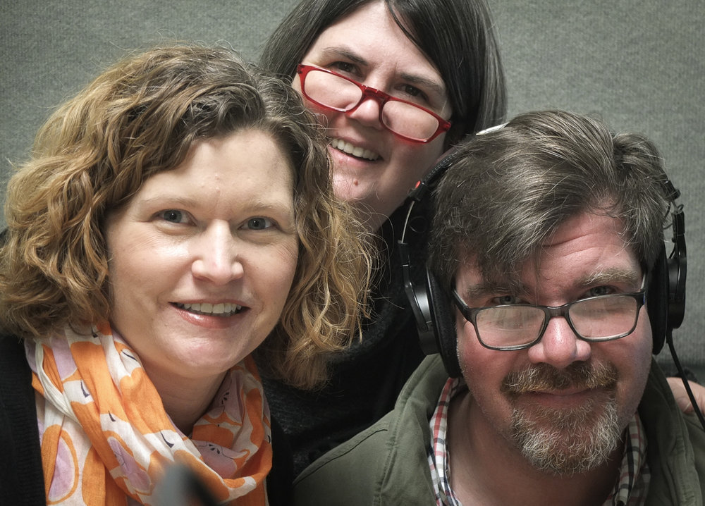 From left, Kristin Ingwell-Goode, Ouita Michel, Chris Michel