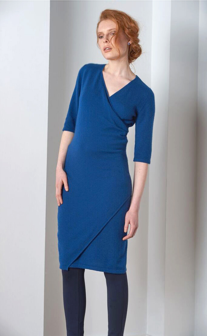 SEMON Cashmere front cross dress blue.jpg