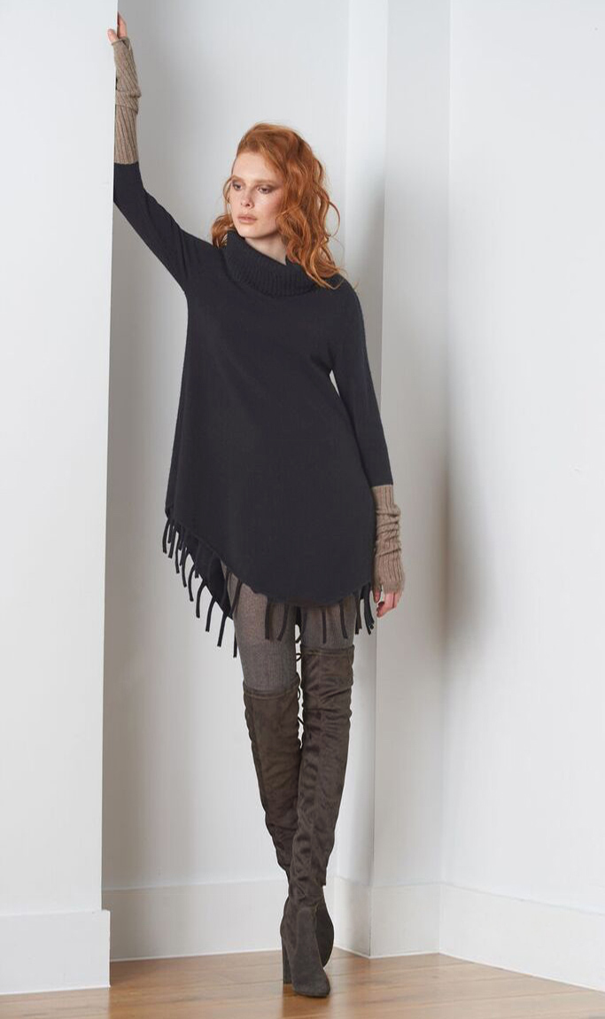 SEMON Cashmere tussle bottom tunic black.jpg
