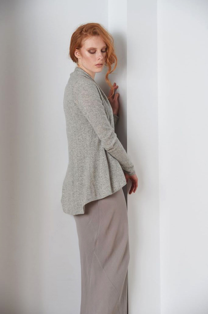 SEMON Cashmere lacy cardigan grey.jpg