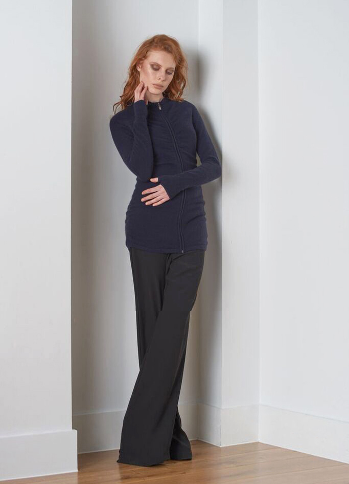 SEMON Cashmere Zipped tunic navy.jpg