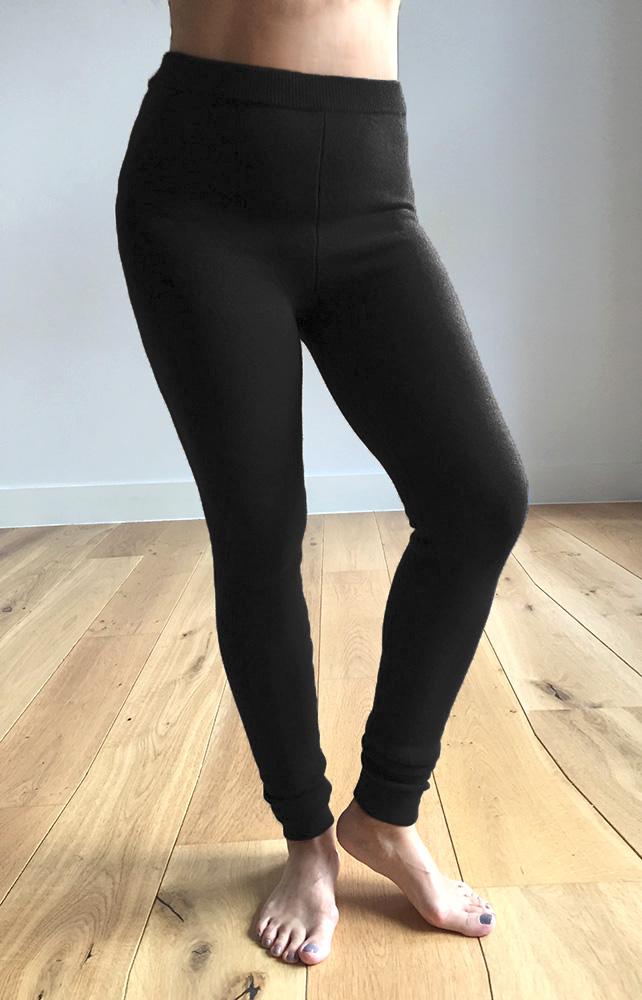 SEMON cashmere thick elasticated leggings black.jpg