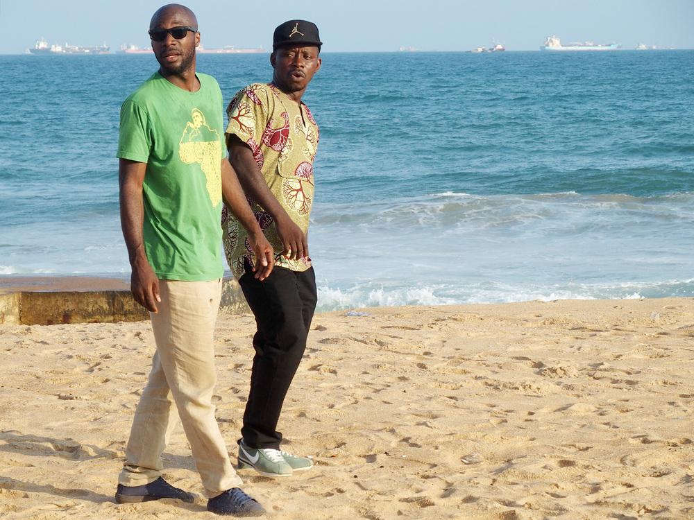 Yao Bobby (Togo) + Edgar Sekloka (France)