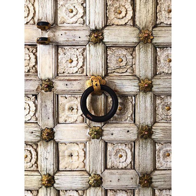 Ivory doors at City Palace. Next stop Varanasi.