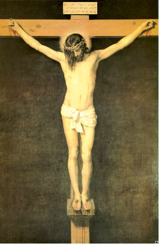 Velazquez,  Christ on the Cross , 1630