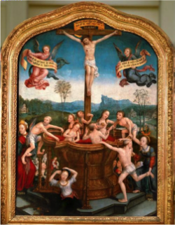 Jean Bellegambe,   Mystic Bath of Souls  , 1505-10