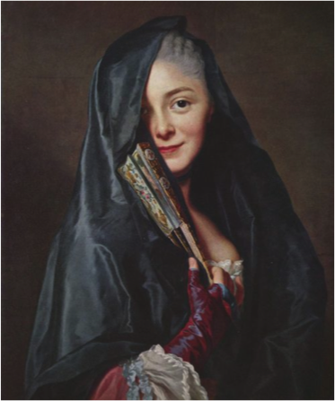 Alexander Roslin ,  Femme au Voile  (1768)