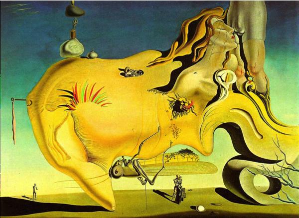 Salvodor Dali,  Le grand masturbateur  , 1929