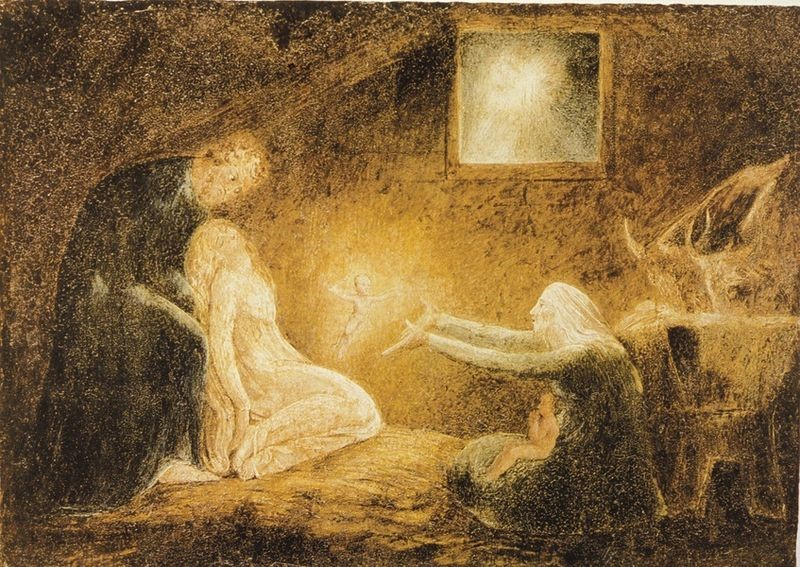 Nativity by William Blake