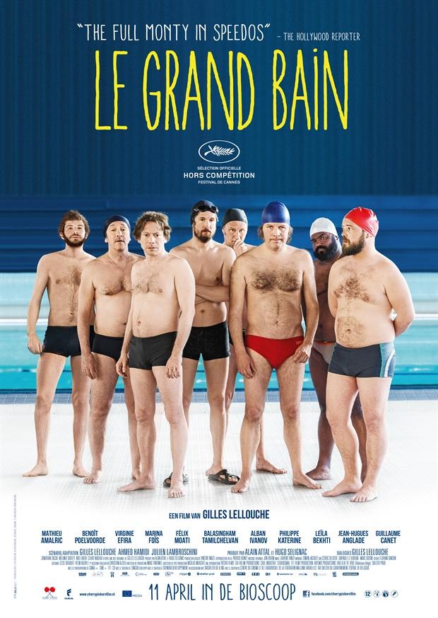 Resultado de imagem para Le grand bain, 2018 poster