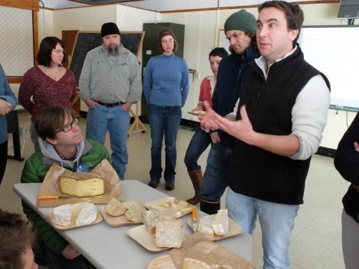 VPR - STERLING COLLEGE ARTISAN CHEESE - 2/12/14