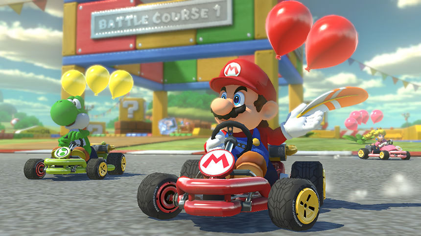 Image source: Mario Kart 8 Official Website