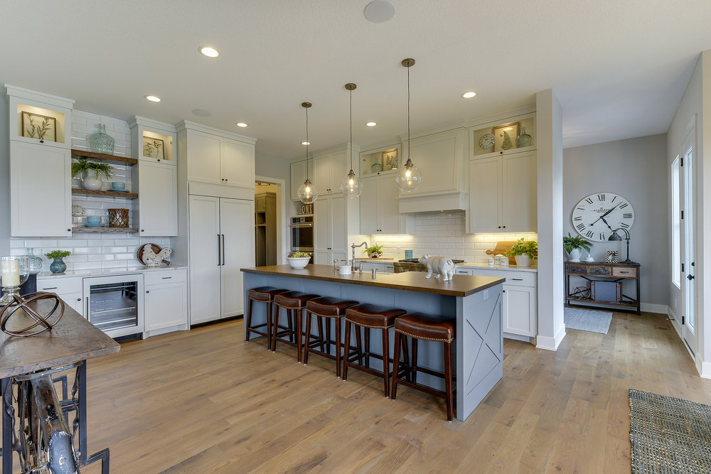 Room Of The Month 59th Avenue Kitchen Zehnder Homes Inc Twin