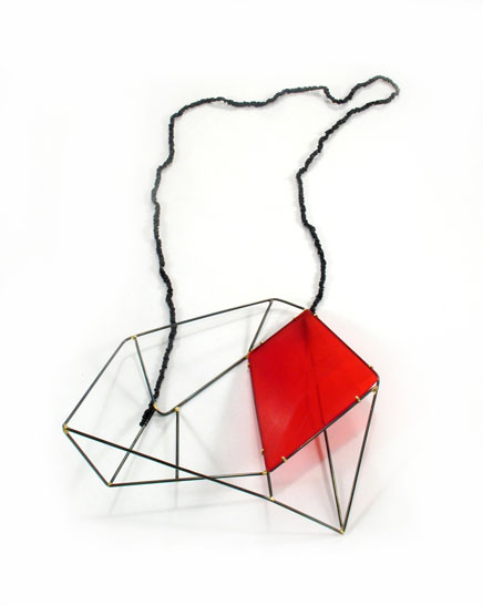 Red Field Necklace #2