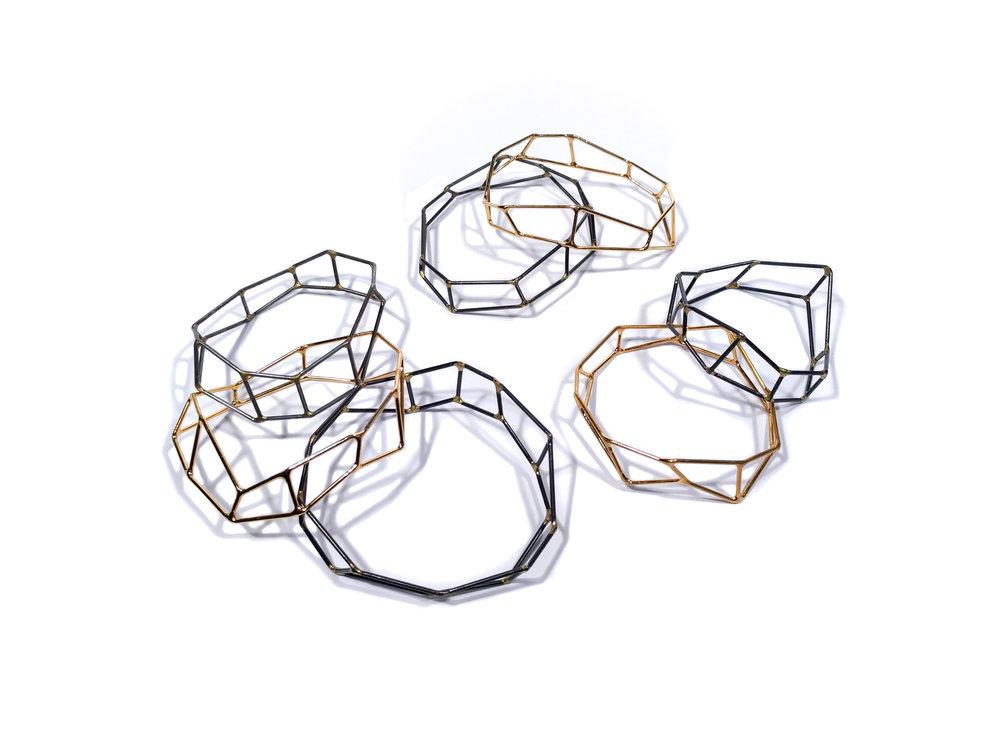 Foundation Strut Bangle Bracelets