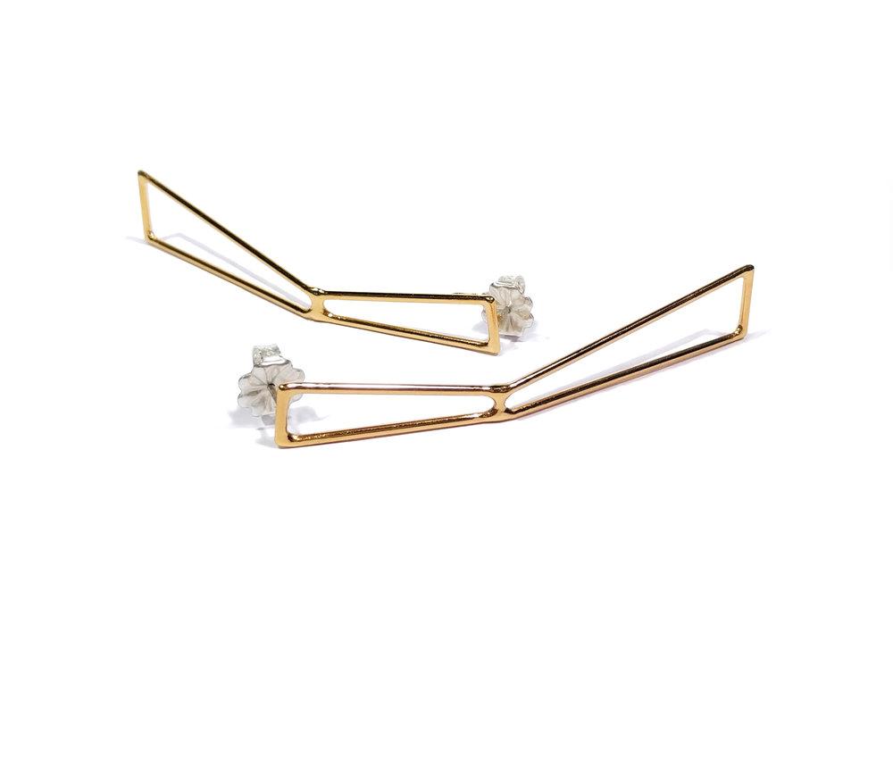 Foundation Strut Earrings