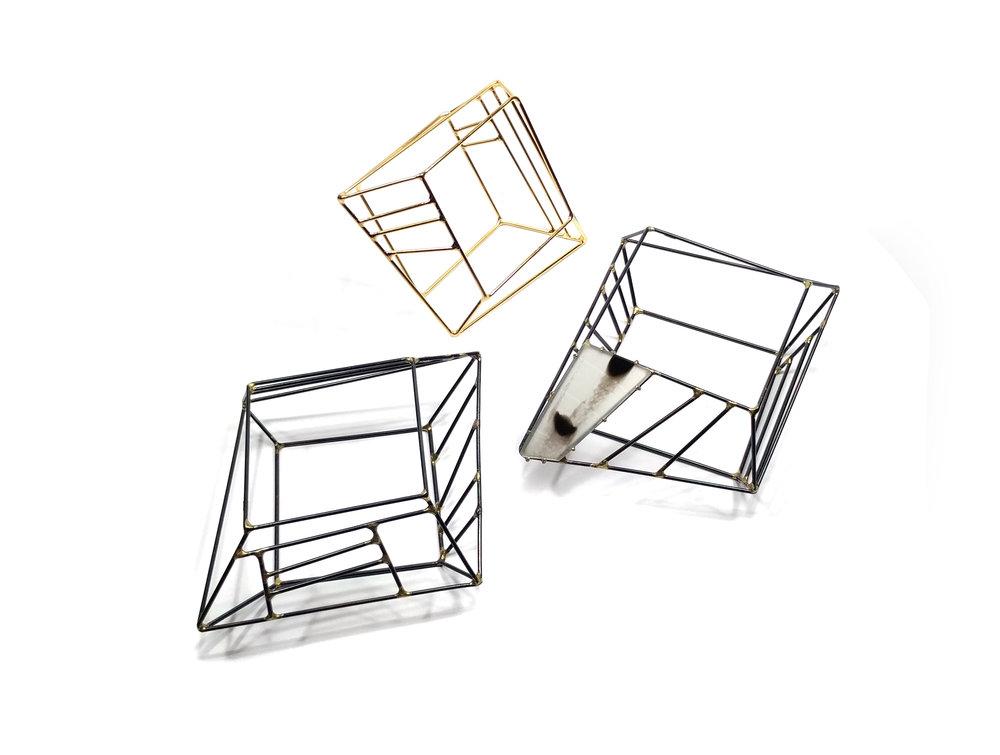 Cube Gem Bracelets