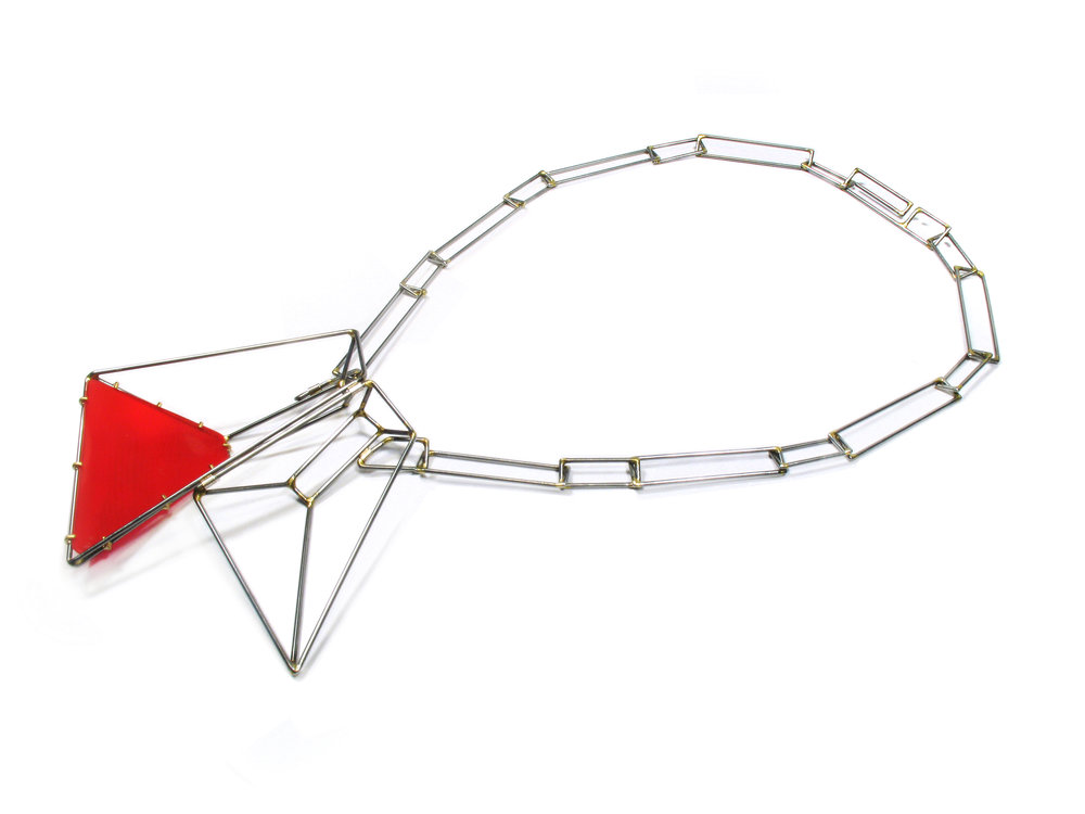 Foundation Trapezoid Paired Necklace