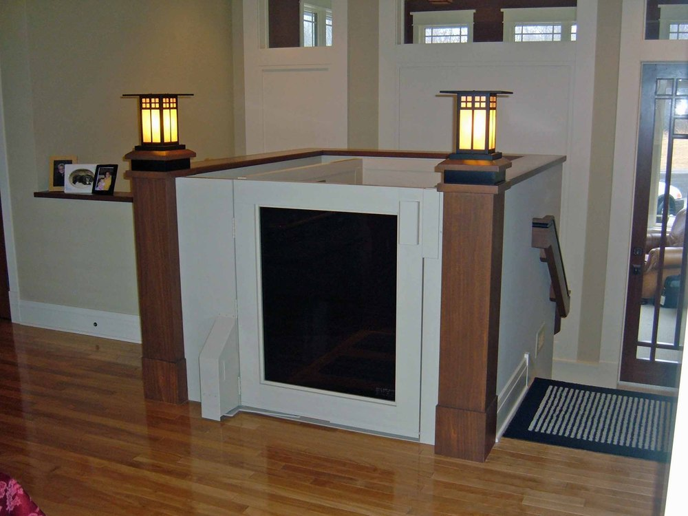 Wheelchair lifts residential mcnally elevator company for Elevator home cost