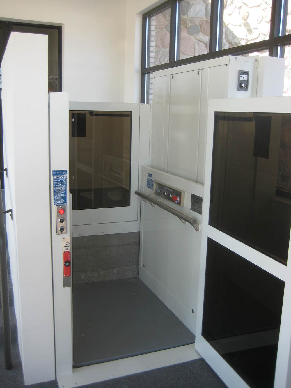 Commercial wheelchair lifts are intended for all public and private professional buildings including schools, universities, office buildings, ...