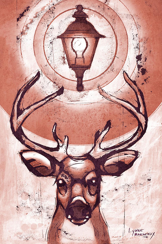 Suburban Deer 1