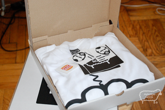 Tee and Stickers inside!