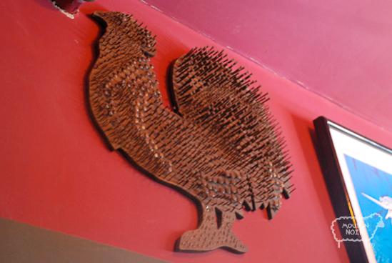 a nailed cock