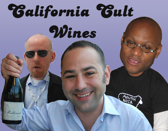 Dominic, Brett and me talked new cult wines @ Summit Food & Wine