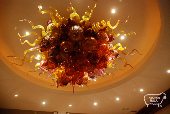 dope chandelier!
