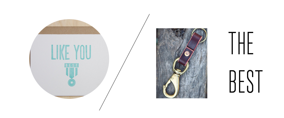 Let the special guys in your life know just how great they are!  A  classic lanyard  and  medal card  will do just that.