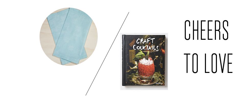 Craft a great cocktail for your bff but don't forget the napkins!
