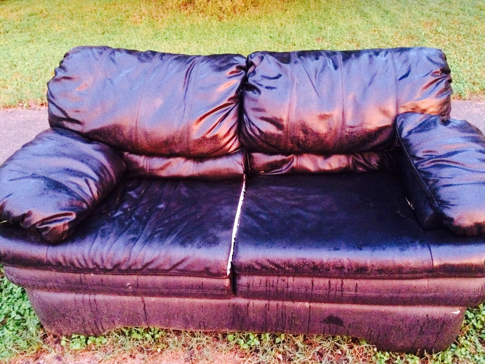 free couch from Street