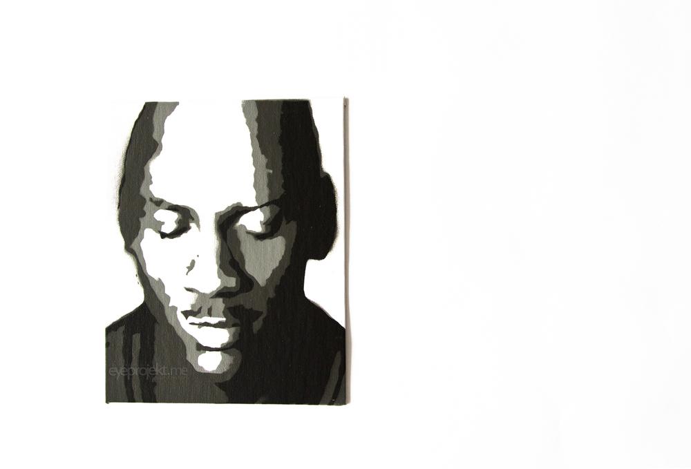 Michael Jordan Canvas Portrait