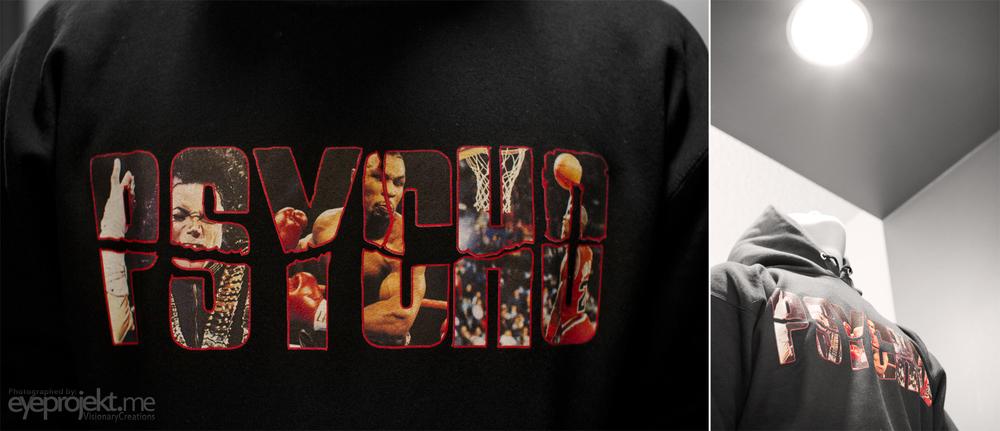 Building a brand ASPYRE 'Psycho hoodie