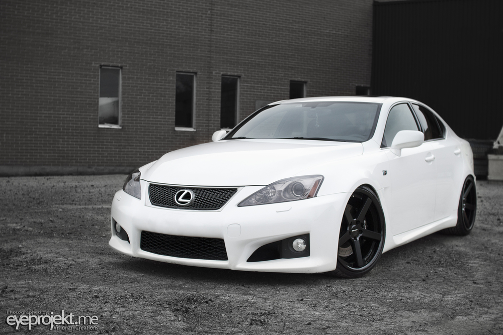 Lexus ISF x StanceWheels SC5