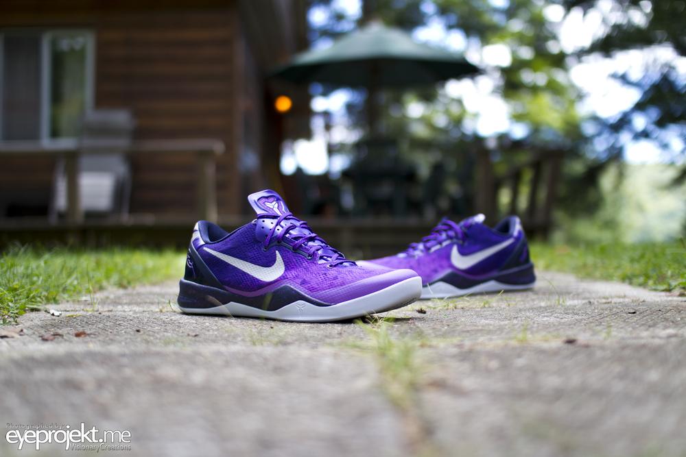 Nike Kobe 8 System Purple Gradient