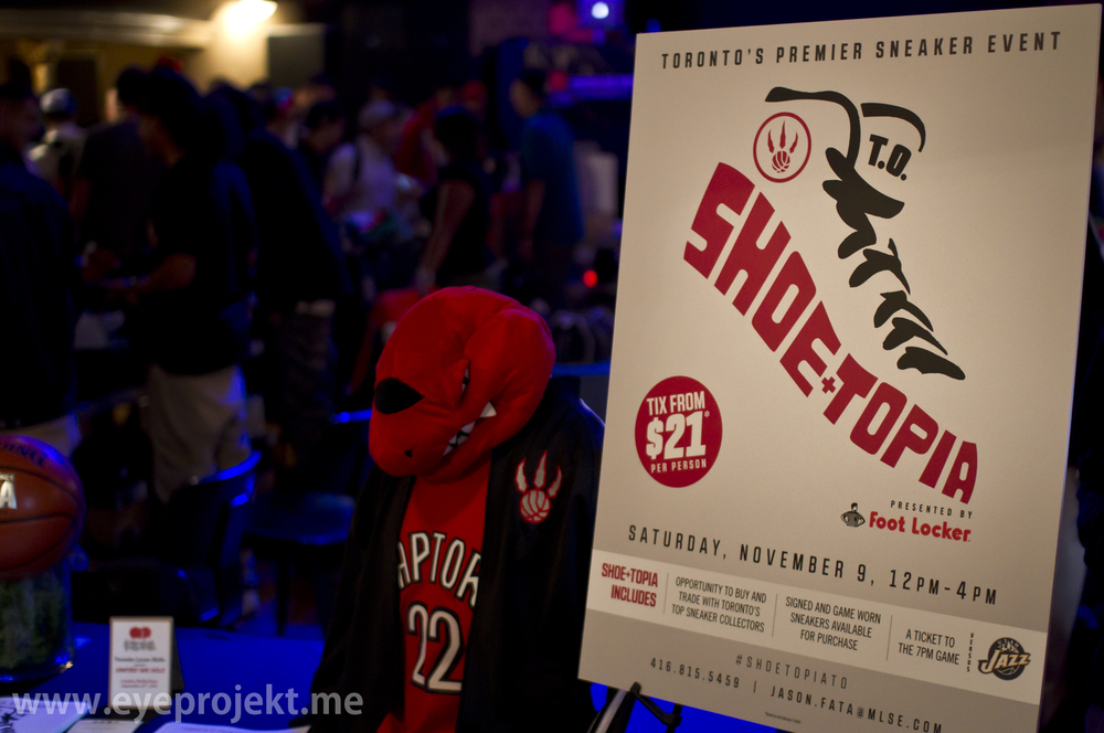 ShoeTopia live Nov 9th 2013 Toronto Air Canada Center 12pm-4pm Buy/Sell/Trade Sneaker Showcase
