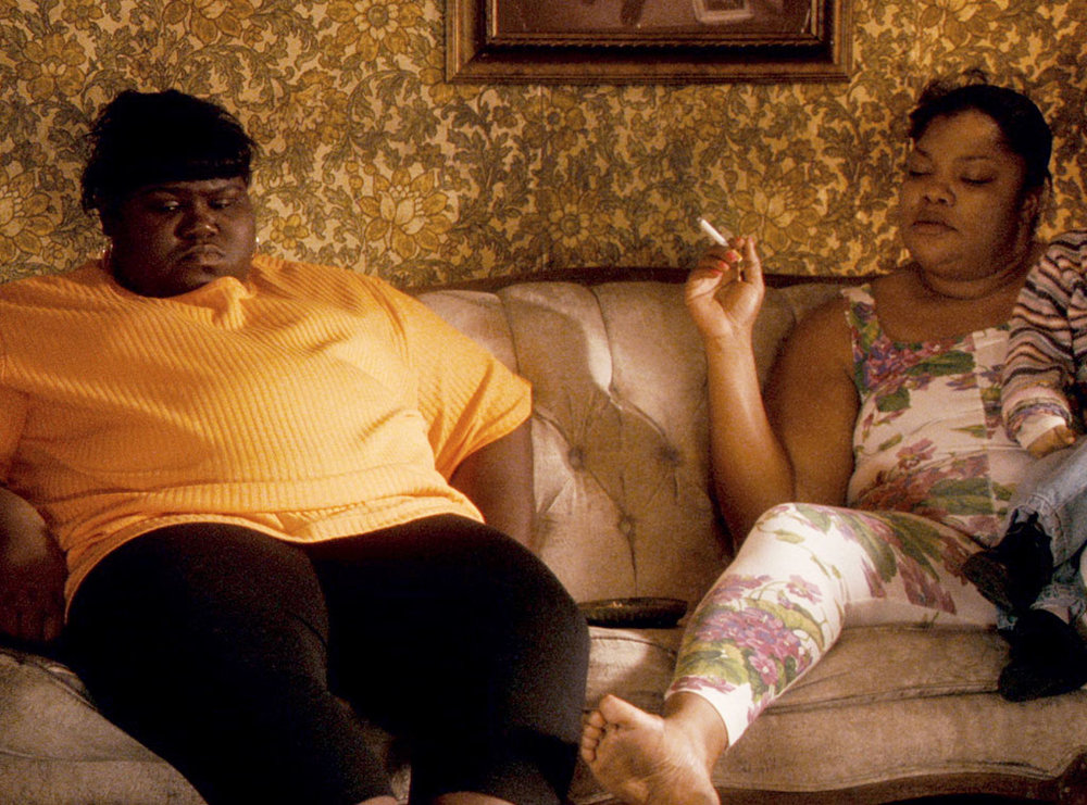 Gabourey Sidibe & Monique in Precious