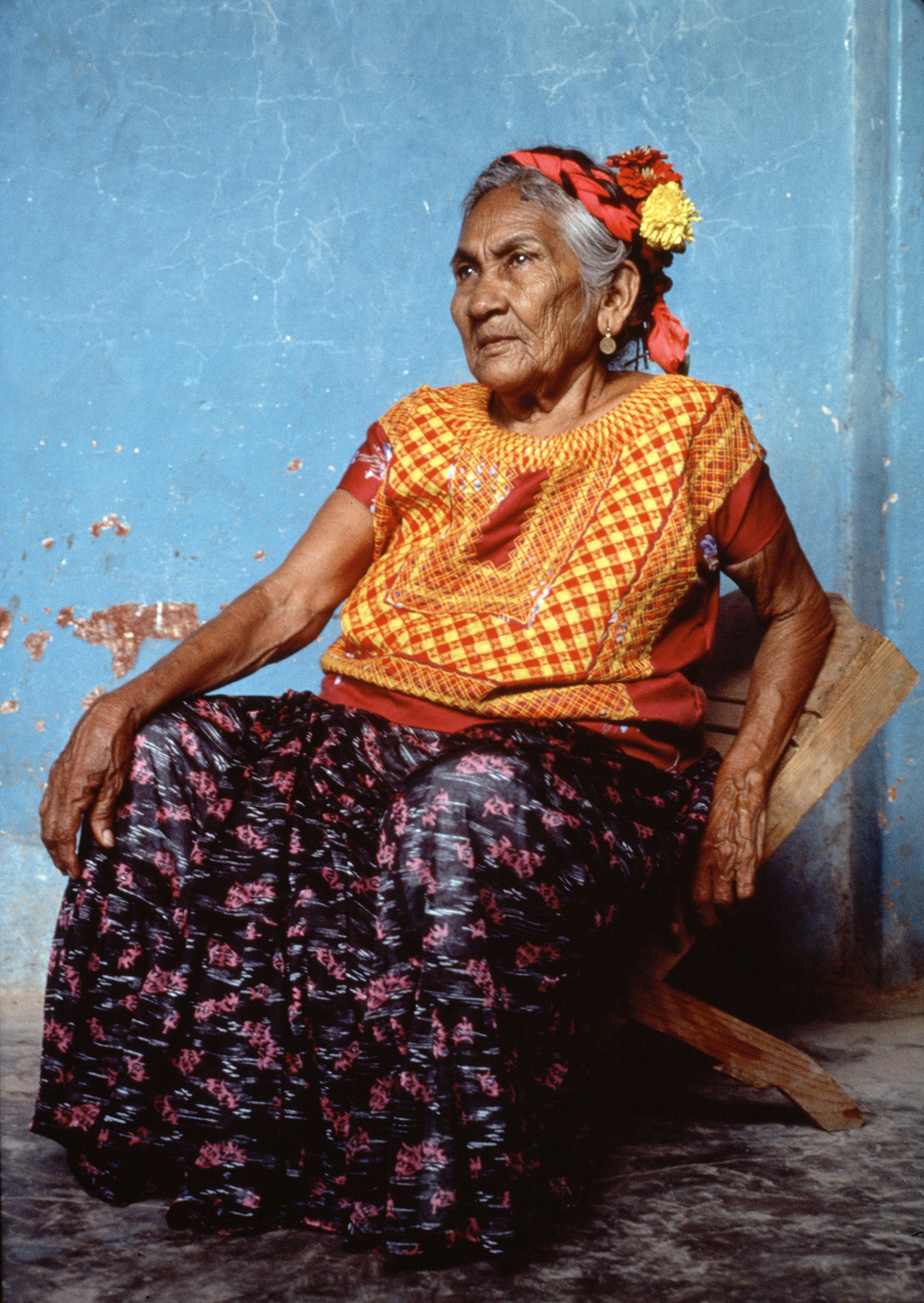 Zapotec Indian Woman in Juchitan, Oaxaca, 1990. Source: UN Photo/F. Keery