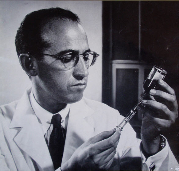 Dr. Jonas Salk. Source: Wikimedia Commons
