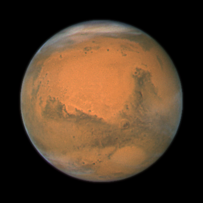 Mars (Source: NASA)